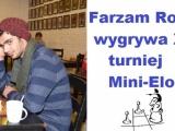 Rokni Farzam najlepszy w turnieju Mini-Elo w Warszawie
