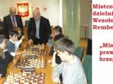 """Finały dzielnicowych turniejów szachowych """"Mistrz prawego brzegu"""""""