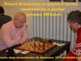 R.Krasiewicz wygrywa 4 Weekendowy Turniej MZSzach